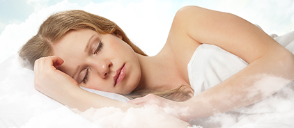Image of a woman sleeping, which shows Total Dentistry's sedation dentistry services